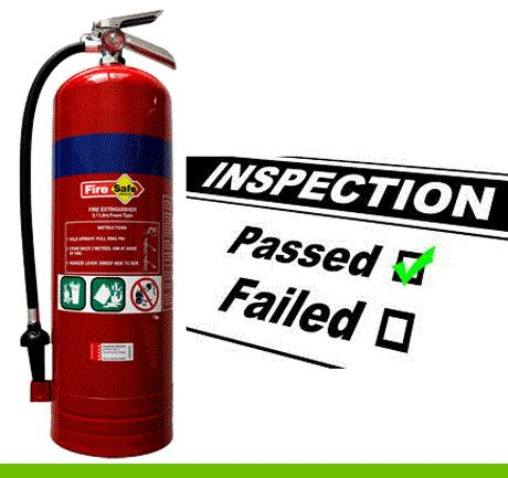 image fire-extinguisher inspection